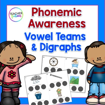 Phonemic Awareness Sound Boxes: Vowel Teams & Digraphs