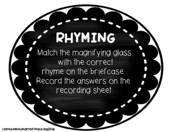 Rhyme, Alliteration, Syllables