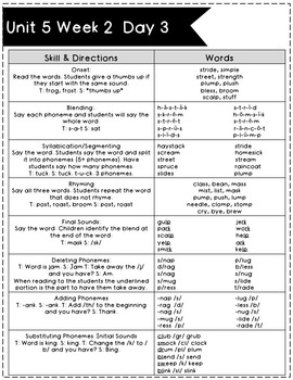 Phonemic Awareness #5