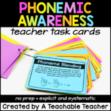 Phonemic Awareness Activities