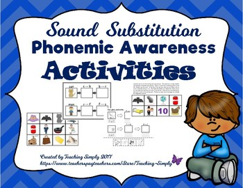 Sound Substitution Phonemic Awareness Activities