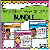 Phonemic Awareness Activities Bundle-Rhyming-Syllables-Beg