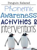 January Phonemic Awareness Activities & Interventions