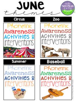 Phonemic Awareness Activities & Interventions - June