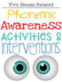 Phonemic Awareness Activities & Interventions - March