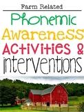 Phonemic Awareness Activities & Interventions - May