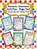 Phonemic Awareness Activities Mega Pack- 6 Activity Packs in 1