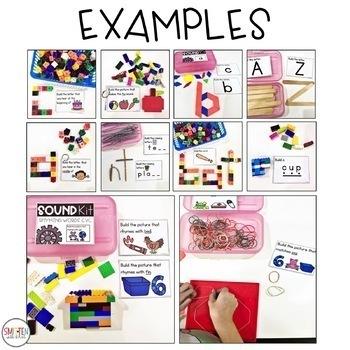 Phonemic Awareness Activities   STEM Activities
