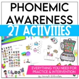 Phonemic Awareness Activities: Small Groups, Whole Group,