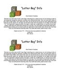 Phonemic Awareness Activities:Letter Bags Parent Letter in