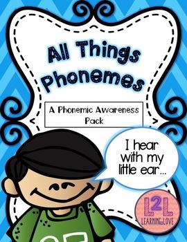 Phonemic Awareness Activity Pack