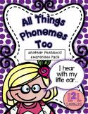 Phonemic Awareness Activity Pack 2