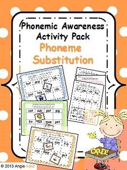 Phonemic Awareness Activity Pack- Phoneme Substitution