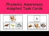 Phonemic Awareness Adapted Task Cards