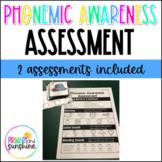 Phonemic Awareness Assessment