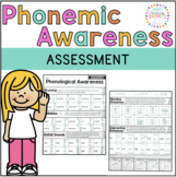 Phonemic Awareness Assessment FREEBIE