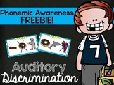 Phonemic Awareness {Auditory Discrimination}
