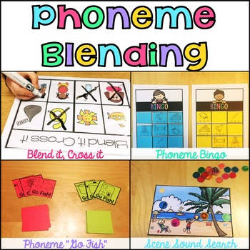 Phonemic Awareness: BLENDING Phonemes