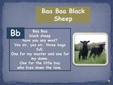 "Phonemic Awareness ""Baa Baa Black Sheep"""