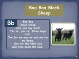 "Phonemic Awareness ""Baa Baa Black Sheep"""