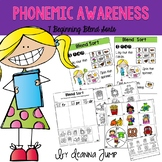 Phonemic Awareness Beginning Blends Sorts