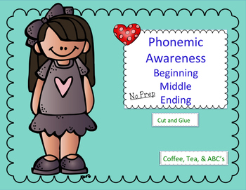 Phonemic Awareness Beginning - Final - Long and Short Vowels