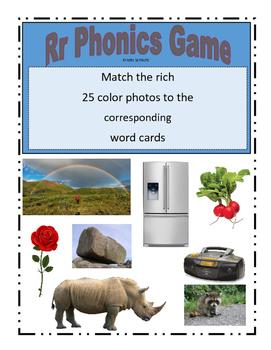 Phonemic Awareness Beginning Rr Sound Game