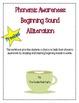 Phonemic Awareness-Beginning Sound Picture Match