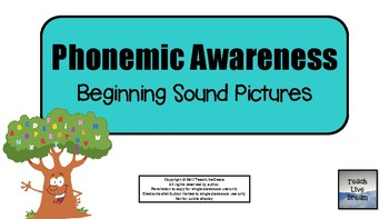 Phonemic Awareness Beginning Sound Pictures