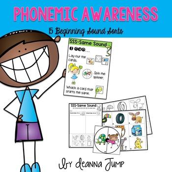 Phonemic Awareness Beginning Sound Sorts