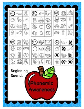 Phonemic Awareness Beginning Sounds