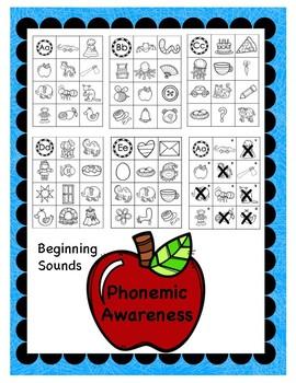 Phonemic Awareness Beginning Sounds