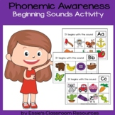 Phonemic Awareness  Beginning Sounds Activity