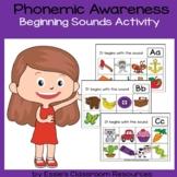 Phonemic Awareness - Beginning Sounds Activity