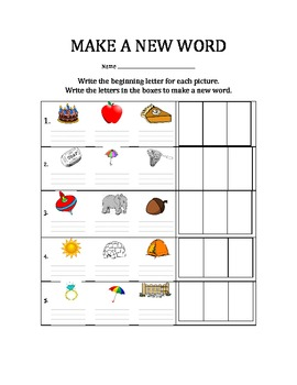 Phonemic Awareness (Beginning Sounds & CVC Words)