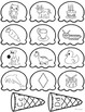 Phonemic Awareness: Beginning Sounds Picture Sort & Syllable Picture Sort
