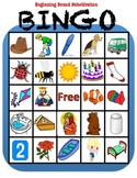 Phonemic Awareness Bingo: Beginning Sound Substitution/Rhyming
