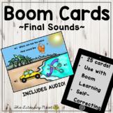 Phonemic Awareness Boom Cards: Final Sounds Multisensory R