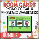 Phonemic and Phonological Awareness Boom Cards™ Bundle