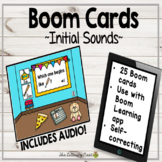 Phonemic Awareness Boom Cards: Initial Sounds Multisensory Reading Practice