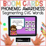 Phonemic Awareness Boom Cards™   Segmenting CVC Words