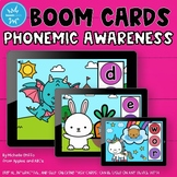 Phonemic Awareness Boom Cards / Sound Isolation