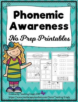 Phonemic Awareness Skills Resource