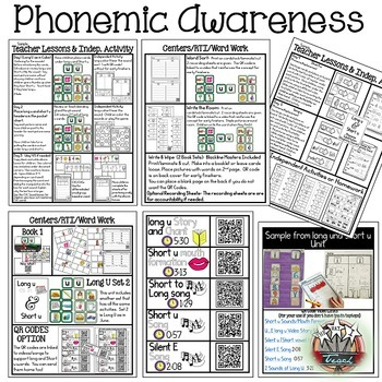Phonemic Awareness Bundle