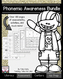 Phonemic Awareness Bundle - Assessments and Activities