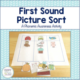 Phonemic Awareness Bundle!  Beginning, Middle, and Ending Sound picture sorts!