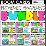 Phonemic Awareness Bundle   Boom Cards