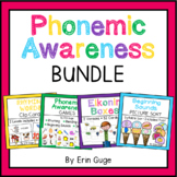 Phonemic Awareness Bundle: Rhyming, Blending, Segmenting, Beginning Sounds
