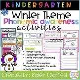 Phonemic Awareness Bundle- Winter Theme!