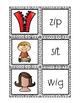 Phonemic Awareness-CVC Words-Say, Spell, Write